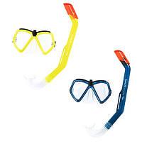 Набор для плавания маска, трубка, Bestway, 24027