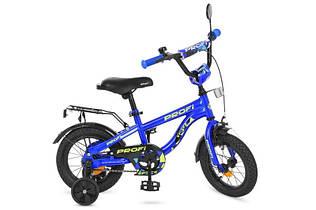 Велосипед двухколесный PROFI T14151 Space, 14 дюймов, синий
