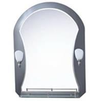 Зеркало с лампой