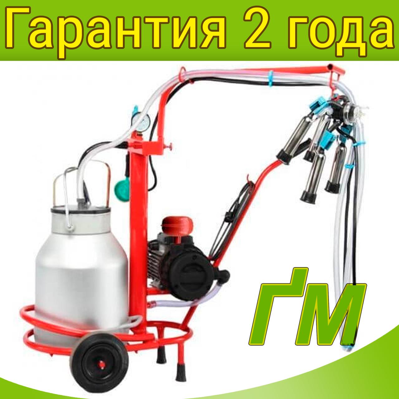Доильный аппарат Березка-1 Нержавейка 1500