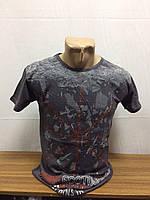 Мужская молодежная футболка хлопок размеры 42-48. Производство Турция.