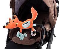 Игрушка Labebe Activity fox for baby chair