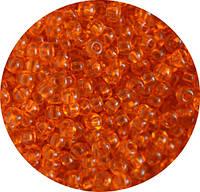 Бисер Preciosa Чехия №90000 1г, оранжевый прозрачный