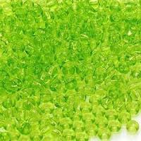 Бисер Preciosa Чехия №50220 1г, светло-зеленый, прозрачный