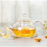 """Чайник стеклянный """"Классический"""", 400 мл. Заварочный чайник, фото 2"""