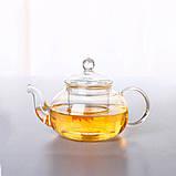 """Чайник стеклянный """"Классический"""", 400 мл. Заварочный чайник, фото 3"""