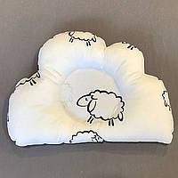 Подушка ортопедическая для новорожденных Овечки