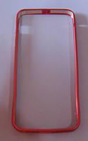 Чехол-бампер для телефона IPhone 5,5S,5G (красный)