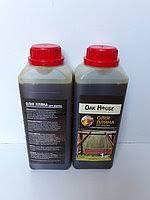 Льняное масло для дерева Oak House (бесцветный) 1 л