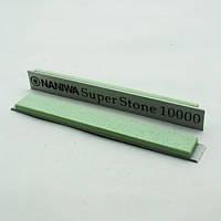 Абразивный точильный камень для заточки NANIWA Sarptning Stone 150х20х5мм на бланке 10000 grit