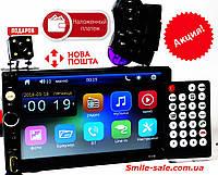 "Автомагнитола 2Din Pioneer 7018B с Экраном 7"" дюймов сенсор + USB, SD, FM, Bluetooth+КАМЕРА!, фото 1"