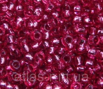 Бисер Preciosa Чехия №18298 1г, розовый темный, блестящий