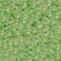 Бисер Preciosa Чехия №37152 1г, светло-зеленый жемчужный