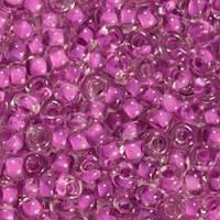 Бисер Preciosa Чехия №38628 1г, фиолетовый прозрачный с внутренней окраской