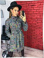 Пальто женское с карманами с 500 гл