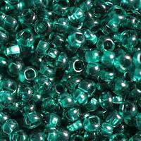 Бисер Preciosa Чехия №50710 1г, зеленый, изумрудный прозрачный