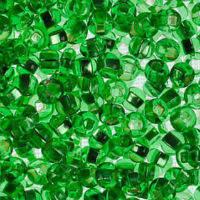 Бисер Preciosa Чехия №57100 1г, зеленый светлый, блестящий