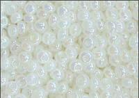 Бисер Preciosa Чехия №57206 1г, молочный полупрозрачный жемчужный