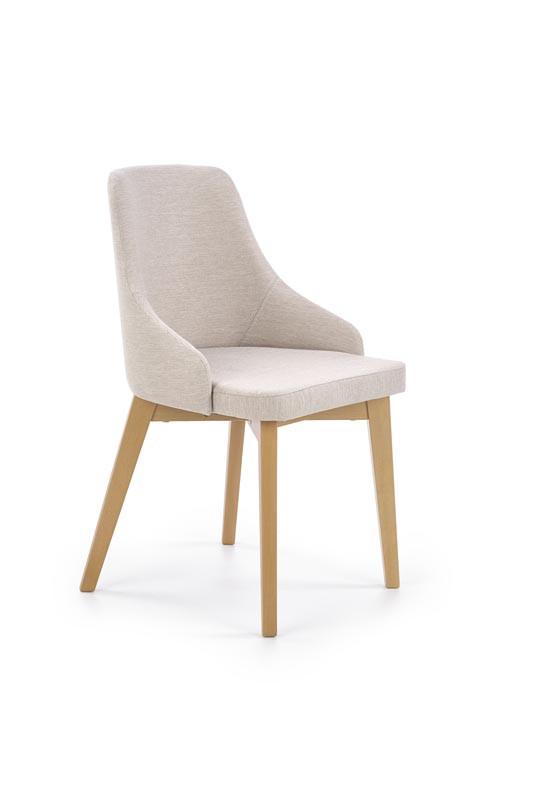 Кресло TOLEDO dąb SONOMA / tap. Inari 23 бежевый (Halmar)