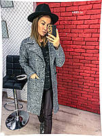 Пальто с карманами на подкладке с495 гл