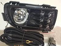 Противотуманные фары (комплект) - Mazda 6 2006 - 07 г c проставками и комплектом электропроводов DLAA