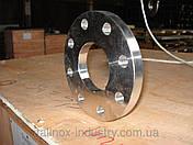 Нержавеющий фланец плоский 08Х18Н10 DN 80 РУ16 (Труба 88,9 мм), фото 3