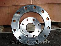 Нержавеющий фланец плоский 08Х18Н10 DN 80 РУ16 (Труба 88,9 мм)