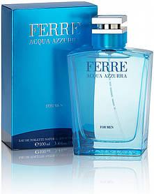 Gianfranco Ferre Acqua Azzurra (свежий, древесный, аромат) духи мужская туалетная вода  | Реплика