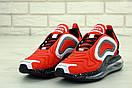 Чоловічі кросівки Nike Air Max 720 Red Black White, фото 2
