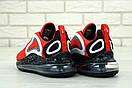 Чоловічі кросівки Nike Air Max 720 Red Black White, фото 4