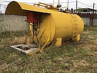 Бу Мини АЗС 15 м³ емкость металлическая, цистерна для ГСМ, топливный модуль. ДОСТАВКА
