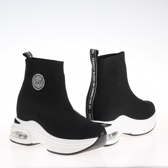 Ботинки женские весенние  Lonza HLNF518 BLACK ВЕСНА 2020 /// F518 BLACK