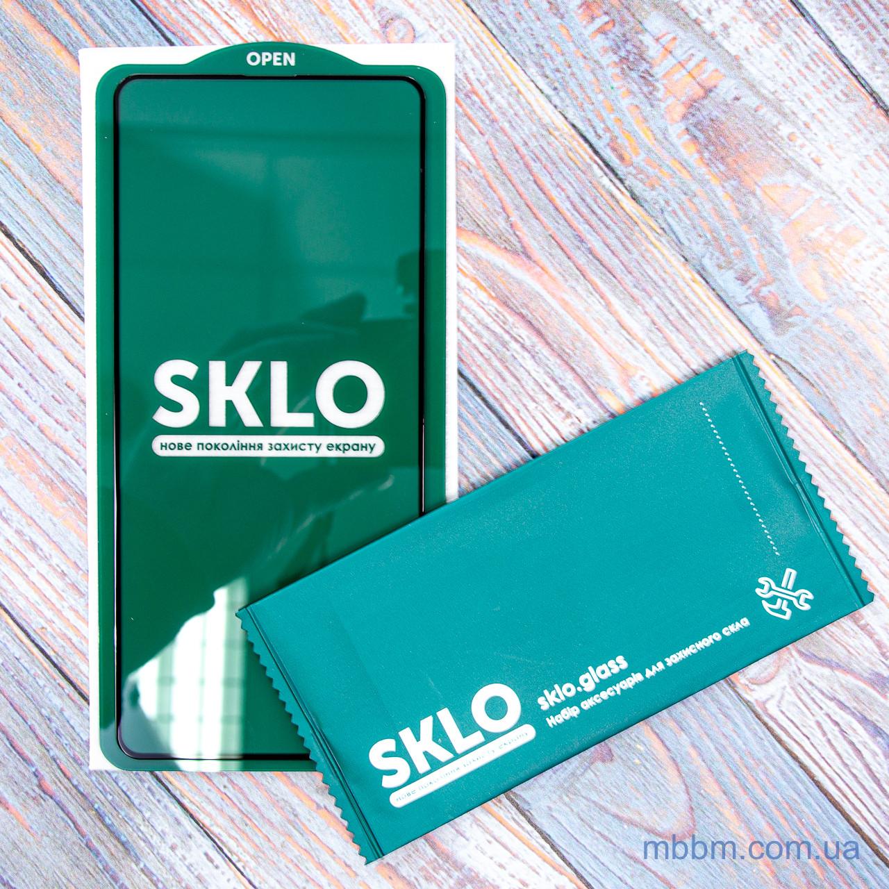 Защитное стекло Sklo 5D Samsung A51 Black