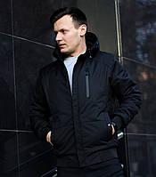 Куртка мужская весенняя осенняя | демисезонная Omar x black Премиум качества