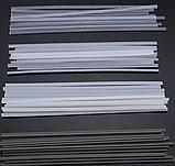 Пластиковые сварочные стержни палочки 200 мм ABS PP PVC PE 50 шт для пайки пластика, фото 4