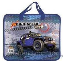 Папка-портфель пластиковая А4 Kidis High speed