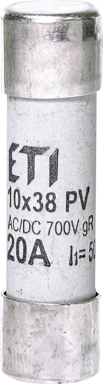 Предохранитель ETI CH 10x38 gR PV 20A 700V AC/DC 50/8kA 2625024 (для фотоэлектрических систем PV)