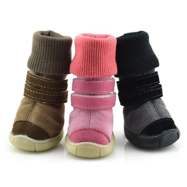 Обувь для собак с манжетом 1/4.2*3.5 см