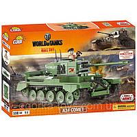 Конструктор Cobi Word Of Tanks. A34 Комета (Cobi-3014) АКЦИЯ