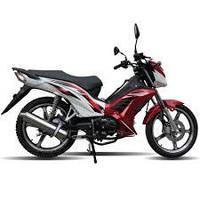 Мотоцикл Spark SP125С-3WQ червоний,Безкоштовна Доставка