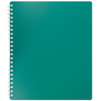 Тетрадь для записей CLASSIC, B5, 80 л., клетка, пластиковая обложка, ассорти Артикул: BM.2419