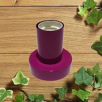 Настенный светильник, потолочная лампа, минимализм, стандартный цоколь, бордовый цвет