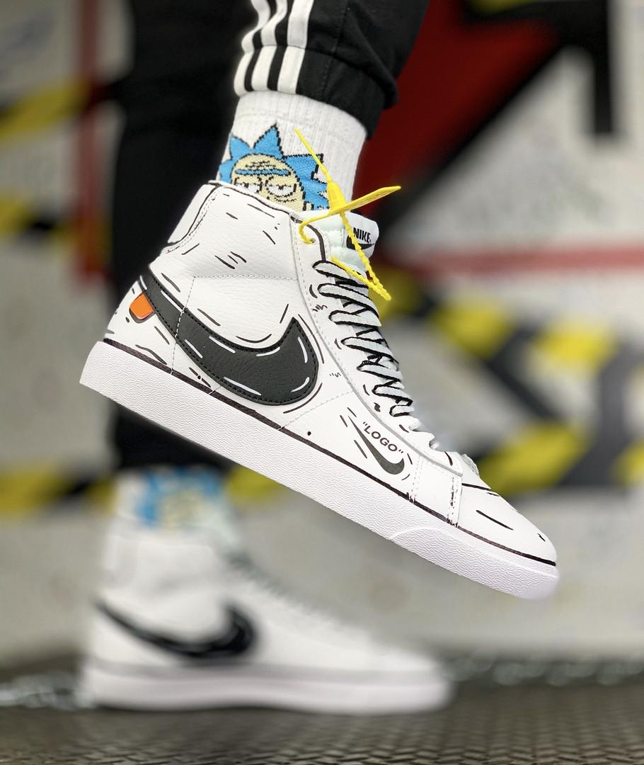 "Кроссовки Nike Blazer Mid ""Белые"""