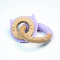 Двойной прорезыватель для зубов SLINGOPARK «Котик»