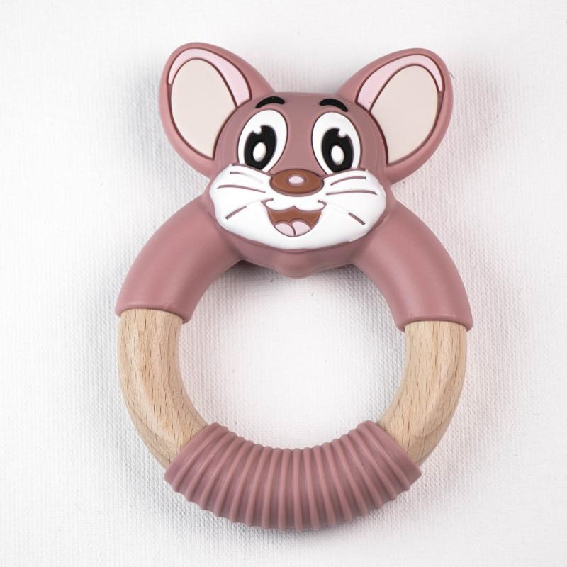 Прорезыватель для зубов SLINGOPARK «Мышонок Том»