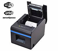 ✅ Xprinter XP-N160II Wi-Fi + USB Принтер чеков 80 мм с автообрезкой, фото 1