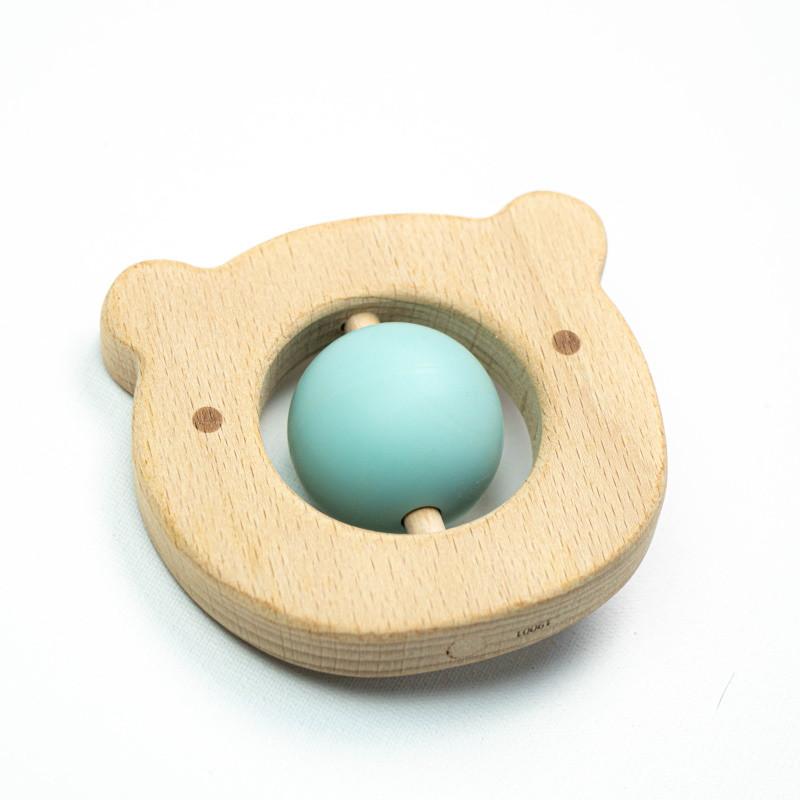 Прорезыватель для зубов SLINGOPARK «Деревяшка Мишка»