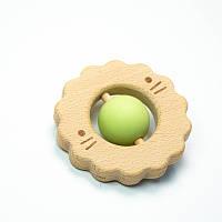 Прорезыватель для зубов SLINGOPARK «Деревяшка Лев»
