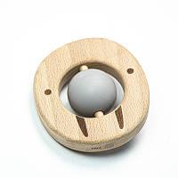 Прорезыватель для зубов SLINGOPARK «Деревяшка Морж»