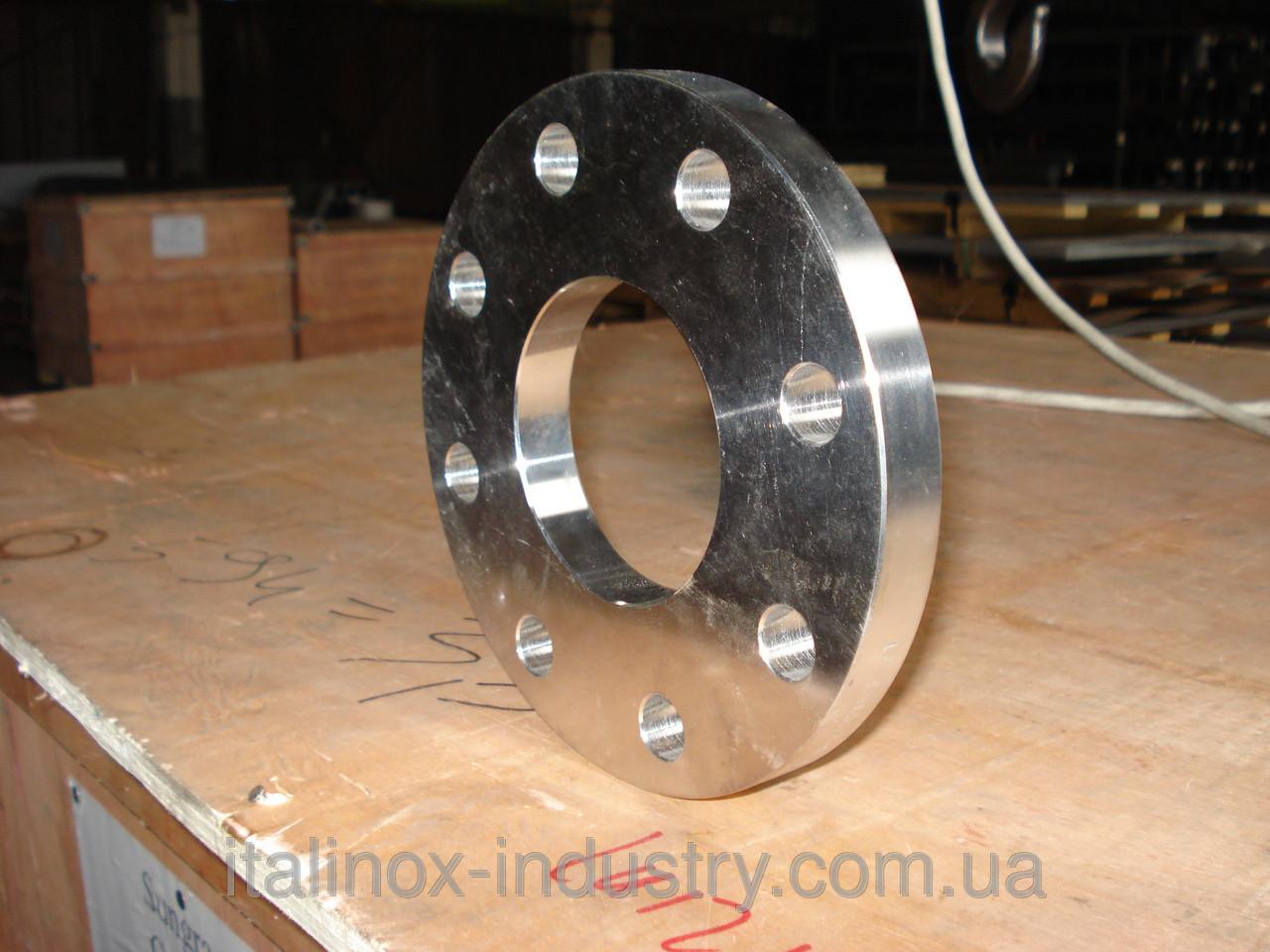 Нержавеющий фланец DN 200 Ру = 16 (Труба 219,1 мм)